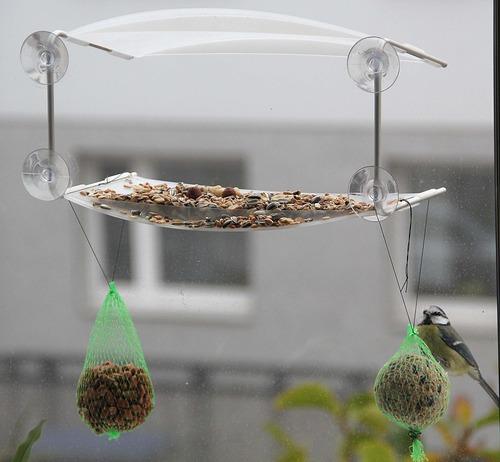 Vogelhaus fürs Fenster - Geniale Geschenkideen